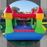 Dětský nafukovací skákací hrad